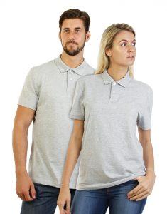 Polo Shirt Gris Chiné Mauritius