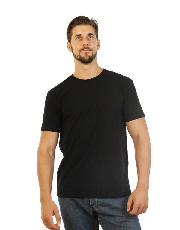 Plain Black T-shirt for Men