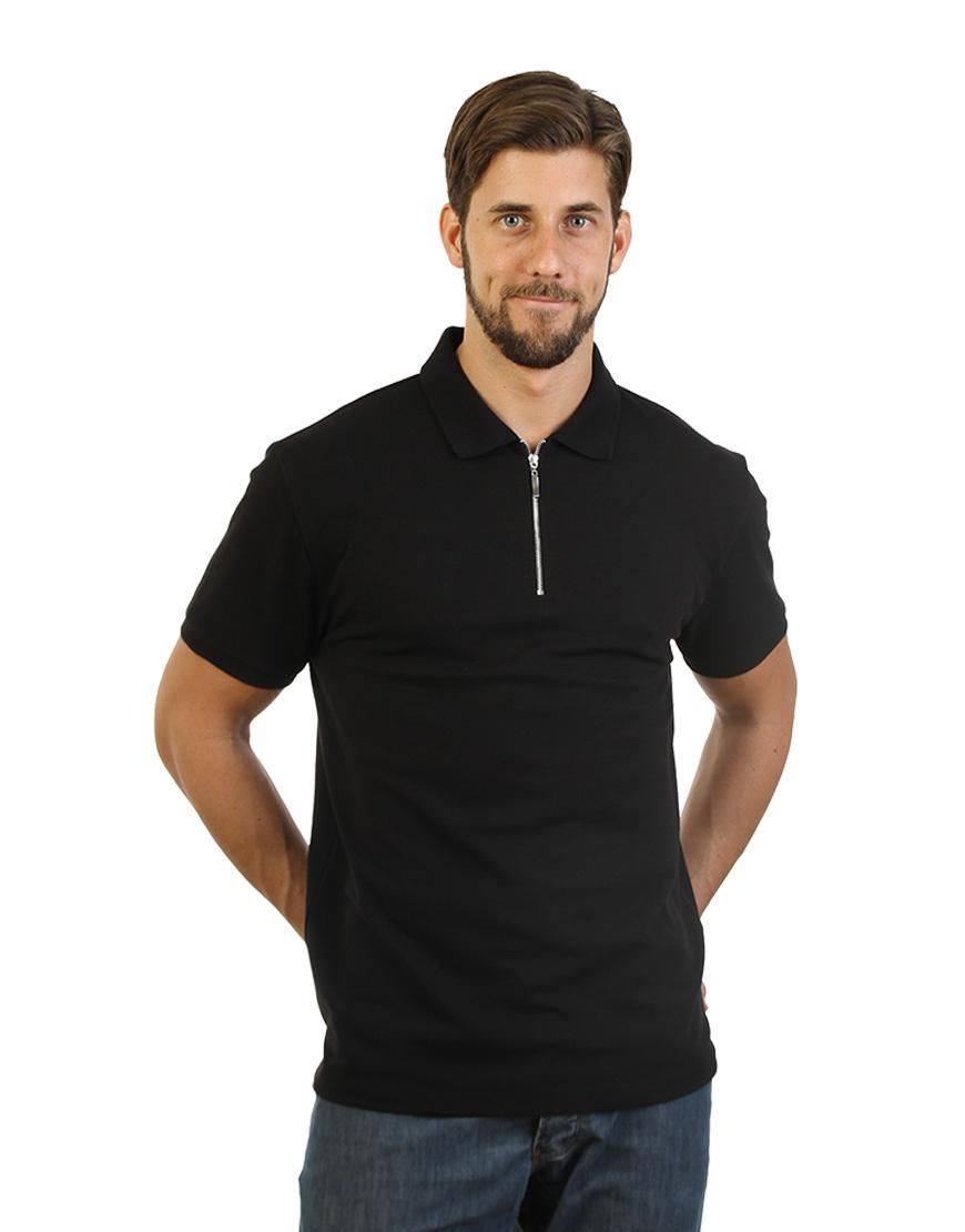 Black Golfer Polo Shirt Mauritius