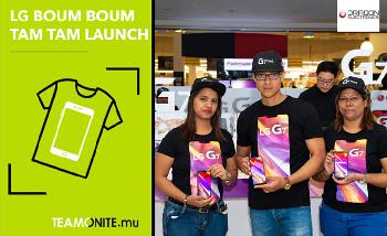 LG G7 Product Launch Mauritius