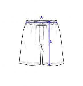 Men Active Fit Short Size Guide