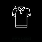 fashion polo t-shirts icon
