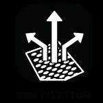 ventilation clothing icon