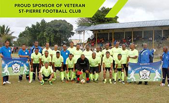 St Pierre Veteran Football T-shirt