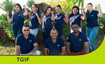 Team Building Polo Shirt Mauritius