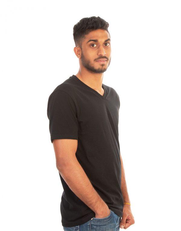Men V-Neck T-shirt Mauritius