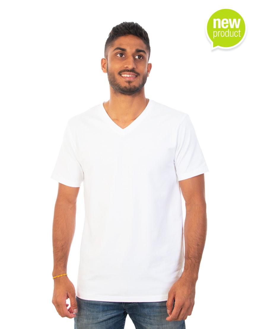 Men white T-shirt white