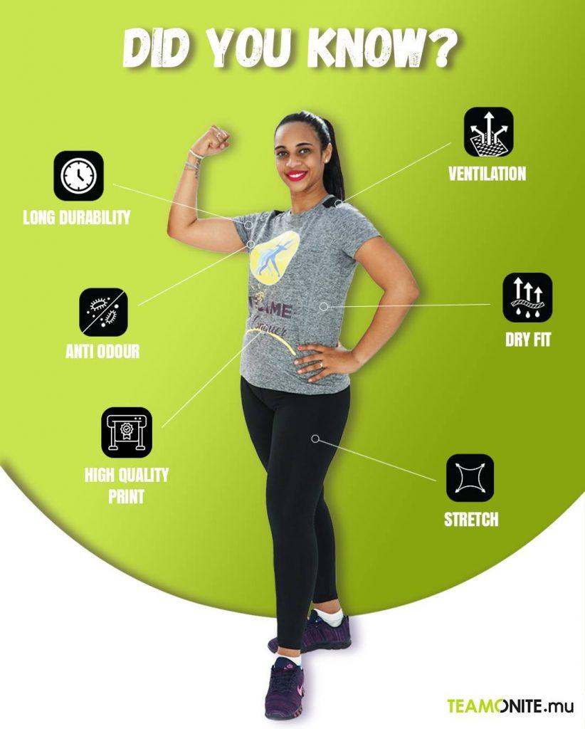 Gym clothing Mauritius - Ladies Activewear