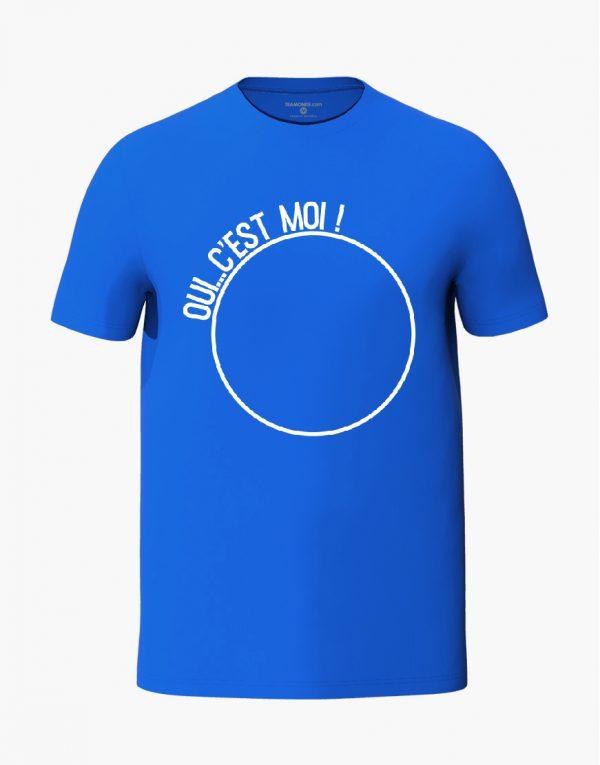 Oui c'est moi Blue Unisex T-Shirt
