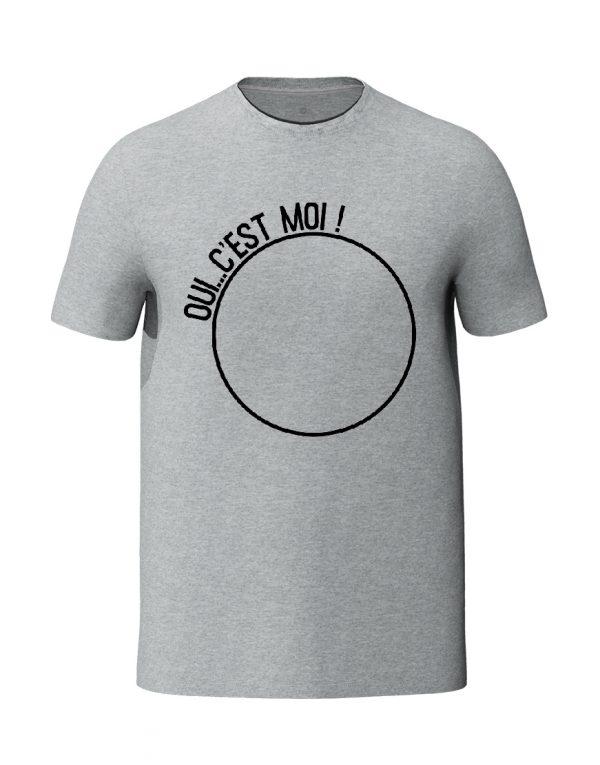 Oui c'est moi Grey Unisex T-Shirt