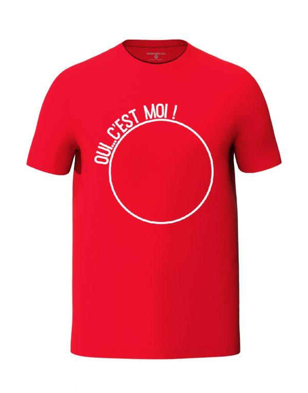Oui c'est moi Red Unisex T-Shirt